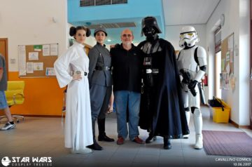Cosplay Star WArs e Unicorn (1)